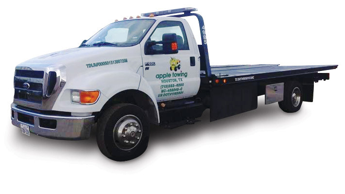 Apple Towing CNG Truck